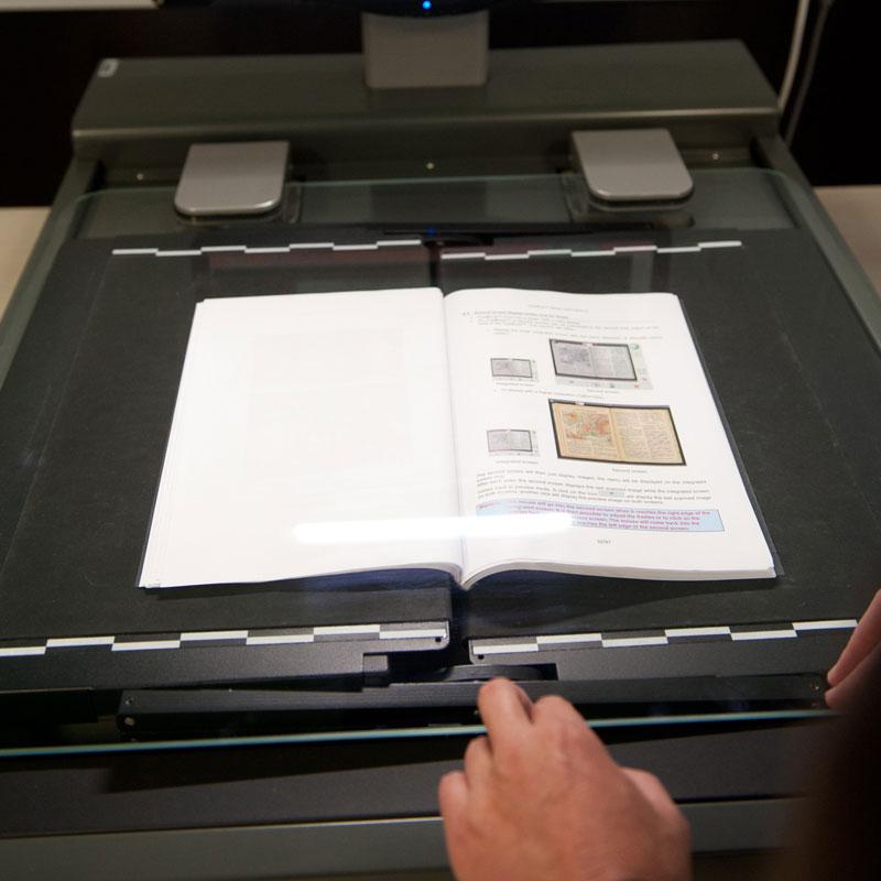 Scan uw boeken voor digitaal gebruiksgemak